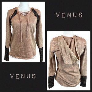 Venus Mineral Wash Hoodie Size S